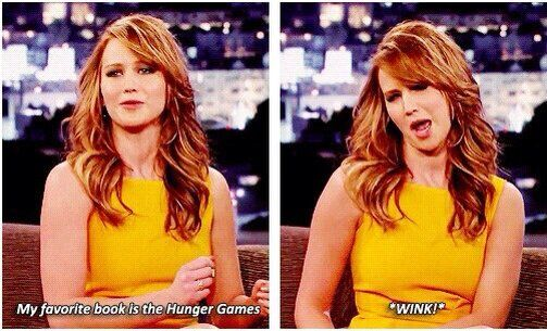 Jennifer Lawrence. She's the best.