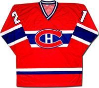 Свитер хоккейный монреаль канадиенс