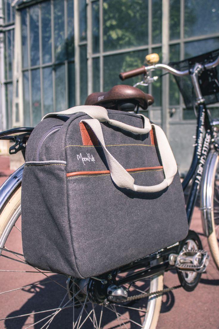 Sacoche simple/ Bowling saddle bag #MoonRide #MoonRideSpirit #collection #SweetBoheme #sweet #boheme #lovely #woman #femme #backpack #bike #trendy #tendance #fashion #lifestyle #street #urban #summer #paris #vélo #bike #city #safety