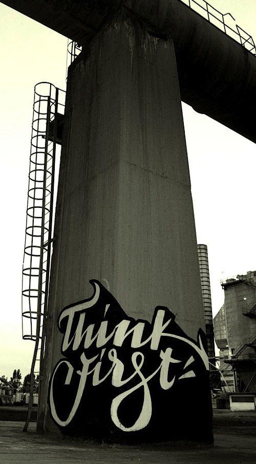 Streetart: Graffiti meets Typography