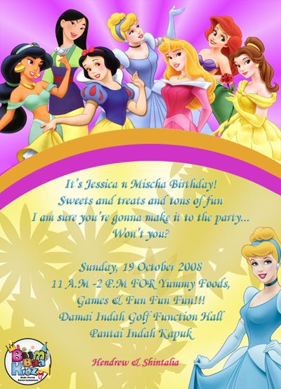 17 Best images about Invitations – Printable Birthday Invitation Cards for Kids