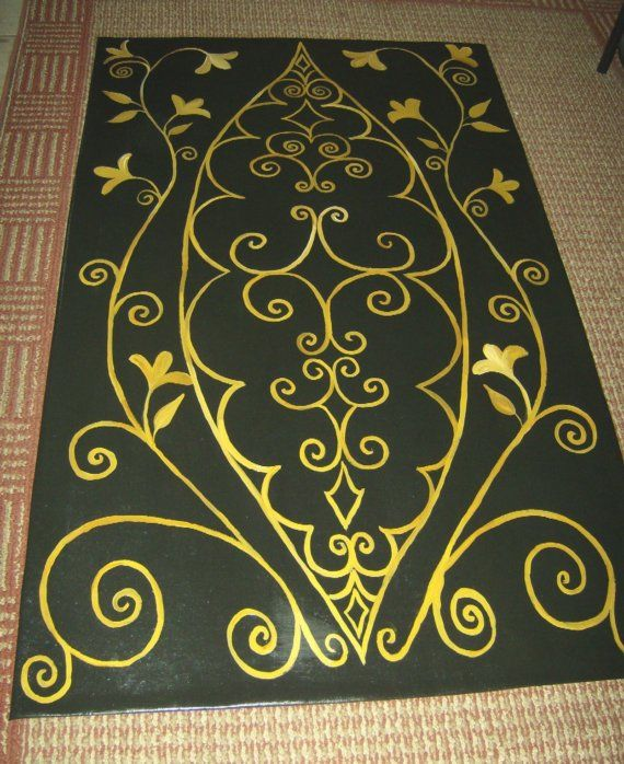 17 Best Images About Floor Cloths On Pinterest Folk Art