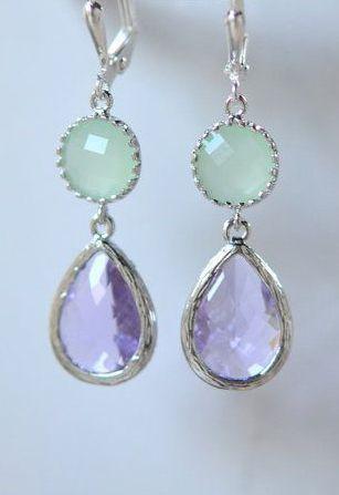 Colors ~ Aqua and Purple