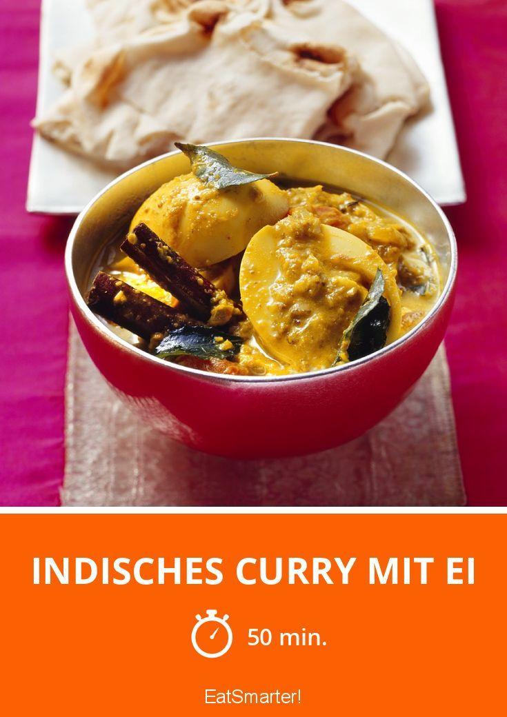 Indisches Curry mit Ei - smarter - Zeit: 50 Min. | eatsmarter.de