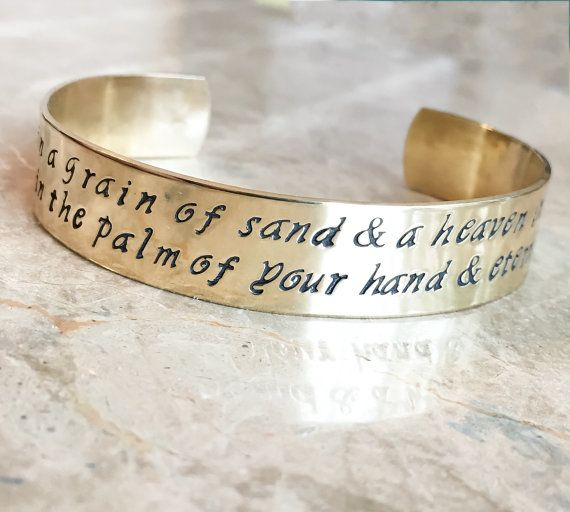 Message Bracelet  Custom Bracelet  by BlueCornerCreasigns on Etsy