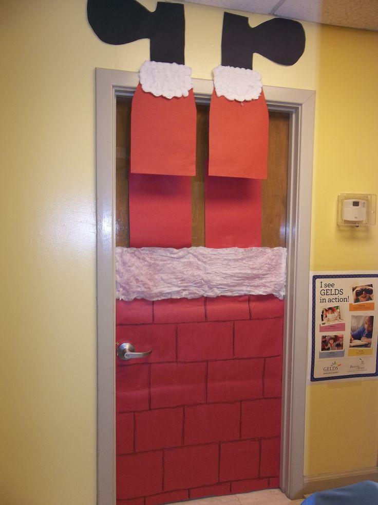 Christmas Decoration For Classroom Door Winter