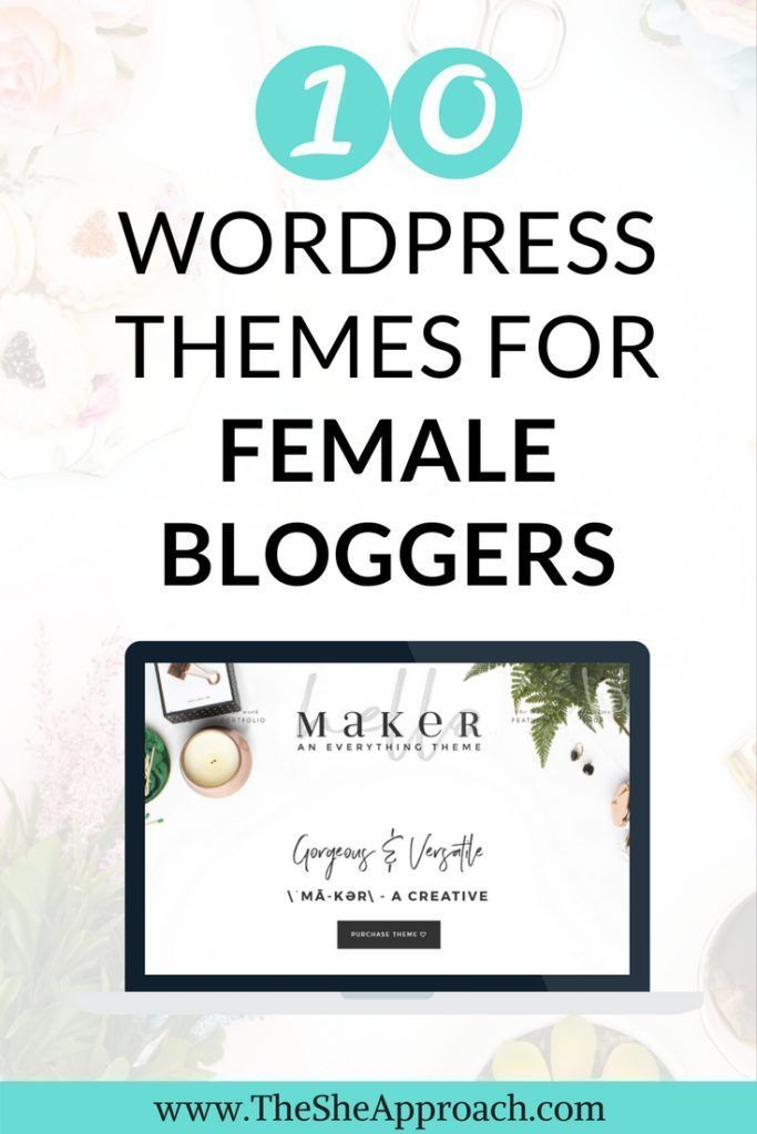 Looking for a way to design your blog and make it stand out? Here are 10 worpress themes for bloggers or entrepreneurs that will be a great fit for your website! More blogging tips on how to choose the perfect feminine worpdress theme! Blog design tips an