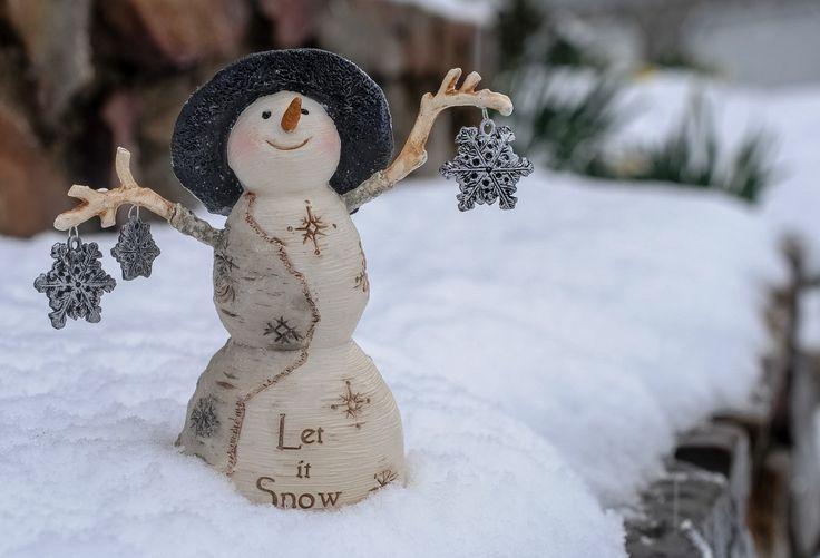 Día festivos Año Nuevo Juguetes Muñecos de nieve