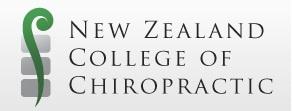 New Zealand Chiropractic College  http://www.chiropractic.ac.nz