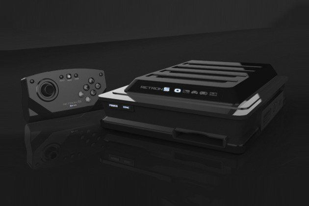 Super Retron 5 - SNES, NES, Genesis, Famicom, Gameboy - HDMI cable out,  wireless controller, ports to plug in your original controllers. $99