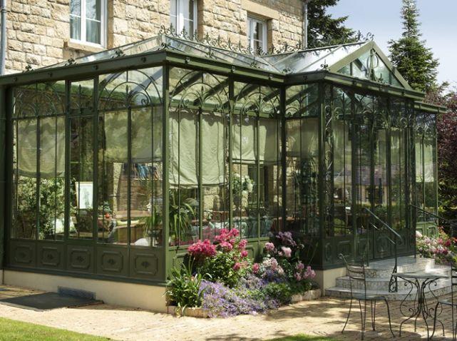 Veranda jardin d hiver longueville outdoor pinterest for Jardin d hiver veranda