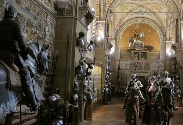 Il Museo Stibbert: il parco, i cavalieri e le armature. Ideale per i bambini.