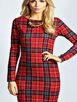 boohoo Tartan Long Sleeve Bodycon Dress - multi azz36556 Take on top to toe tartan in this bad ass bodycon dress . Play on the punk trend and pair with a PU biker jacket , edgy embellished beanie and chunky Chelsea boots for all- about-attitude attire. http://www.comparestoreprices.co.uk/dresses/boohoo-tartan-long-sleeve-bodycon-dress--multi-azz36556.asp