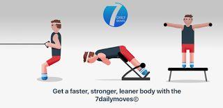 7 Daily Mueve v1.1.0 premium  Jueves 3 de Diciembre 2015.Por: Yomar Gonzalez | AndroidfastApk  7 Daily Mueve v1.1.0 premium Requisitos: 4.0.3 Información general: Obtener una más fuerte más rápido el cuerpo más delgado con los 7dailymoves .  Los 7dailymoves  entrenamientos se basan en movimientos humanos básicos. Nuestros cuerpos están diseñados para ponerse en cuclillas estocada curva empujar tirar girar caminar (correr o saltar). Nuestro cuerpo debe ser capaz de realizar estos movimientos…