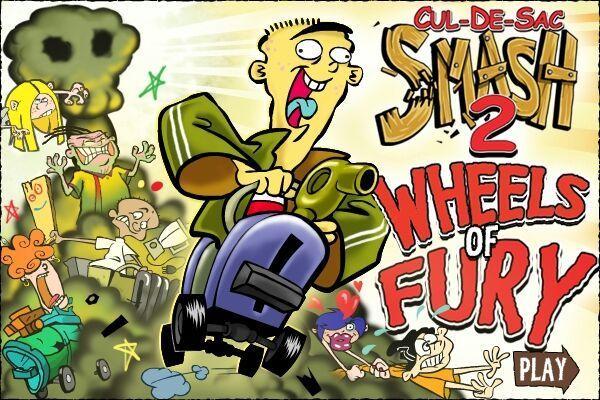 Cul-de-sac Smash 2 Wheels of Fury - Play Ed Edd N Eddy ...