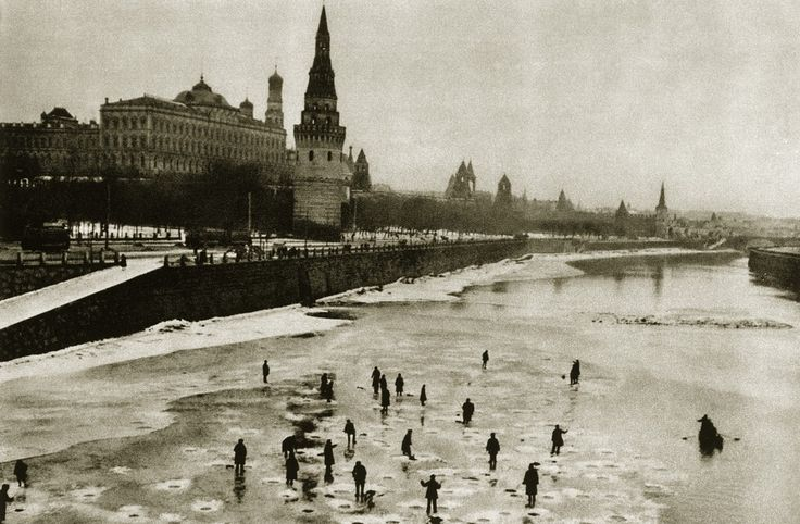 Life in Moscow back in the 1920s...
