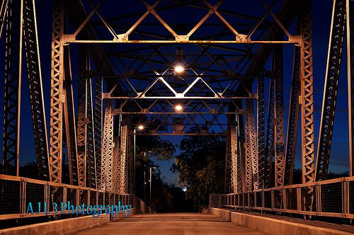 Lone Wolf Bridge, San Angelo, Texas