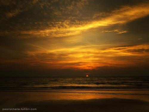 beachy sunsets