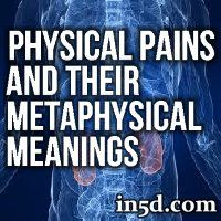 Everything on the Physical plane is a manifestation of something on the Metaphysical plane.