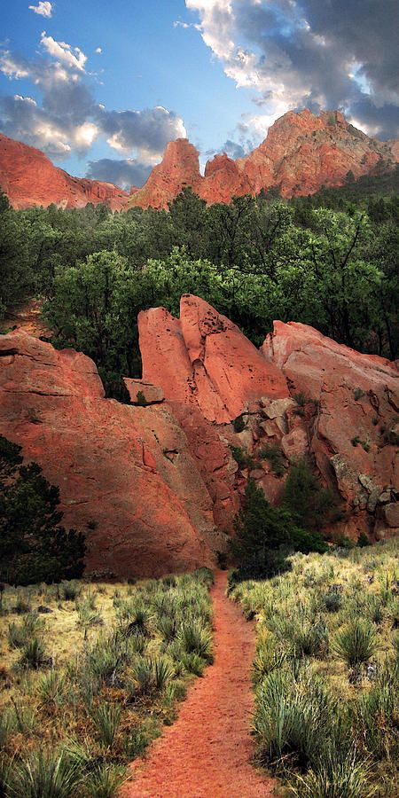 ✯ Garden of the Gods - Colorado  I learned how to rock climb here! It is beautiful!