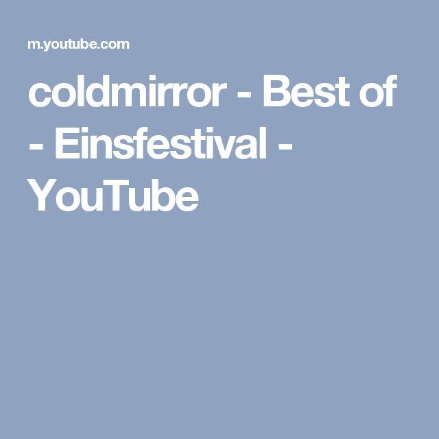 coldmirror - Best of - Einsfestival - YouTube