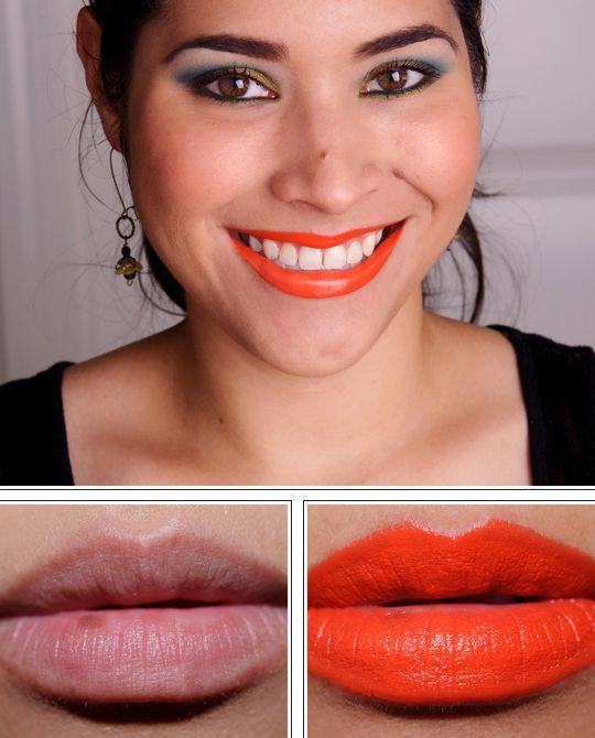 MAC morange | MAC Morange Lipglass, Lipstick, Nail Lacquer Review, Photos, Swatches