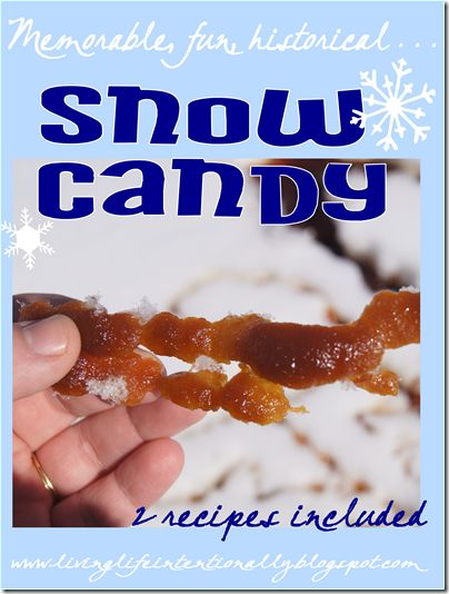 How to Make Snow Candy - Fun Winter kids activity for homeschoolers Chemistry lesson for homeschool science plus snack!!