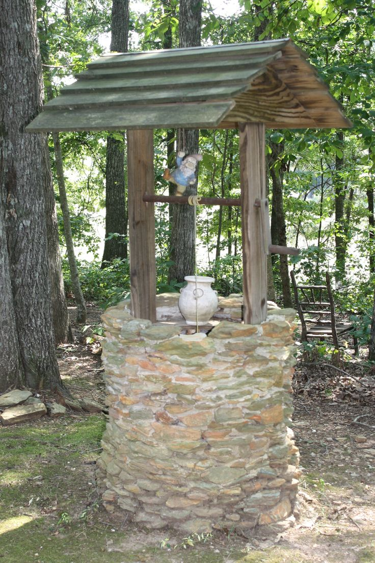 241 best Wishing Wells images on Pinterest | Fountain, Water well ...