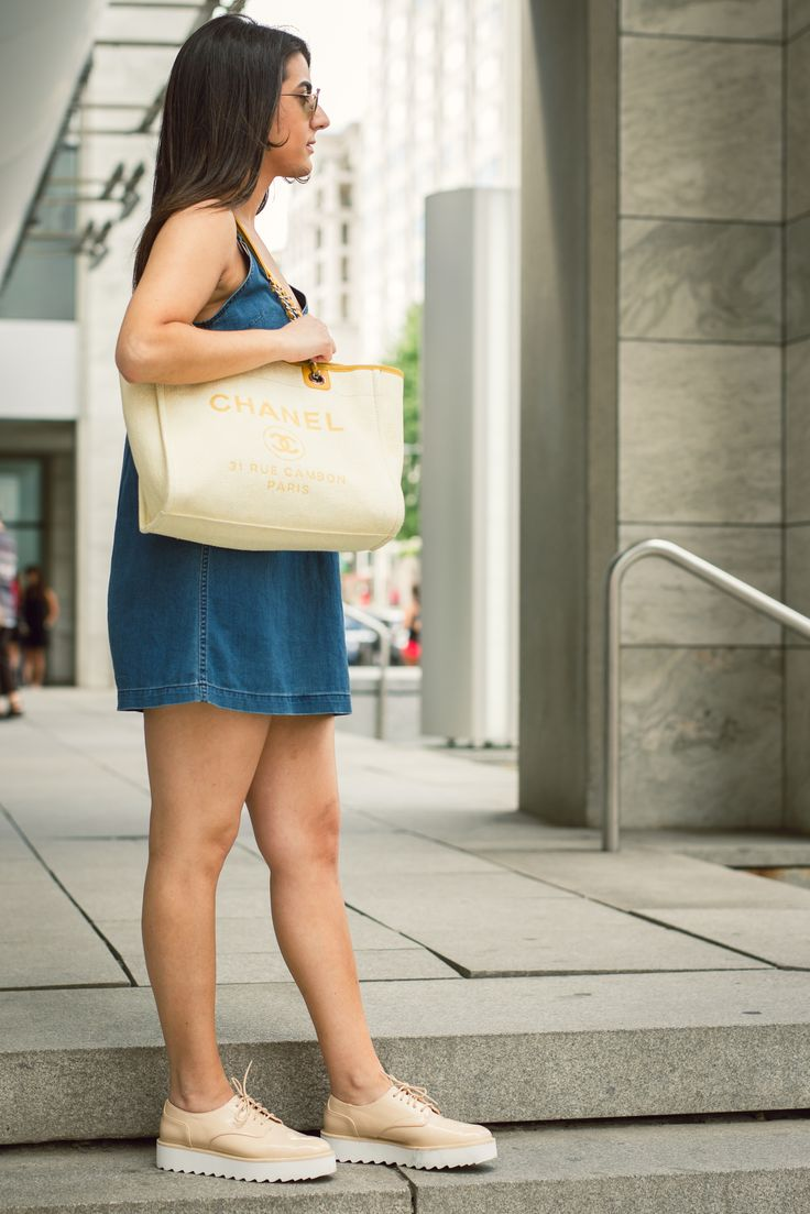 Chanel Yellow Deauville Tote | Chanel Deauville | Chanel ...
