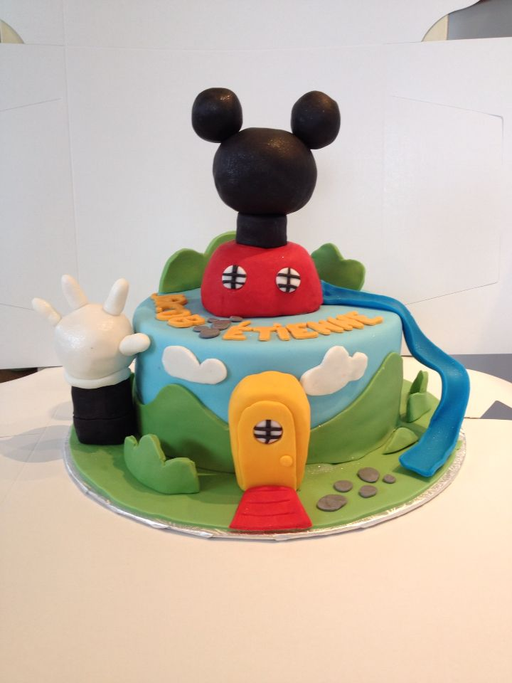 Gâteau mickey mouse/ Mickey mouse cake