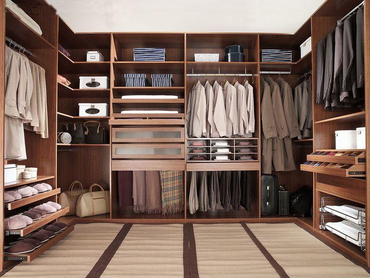 Walk in Closet for Men Masculine closet design 1 30 Walk in Closet Ideas for Men Who Love Their Image
