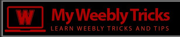 My Weebly Tricks: Learn Weebly Tricks and Tips.