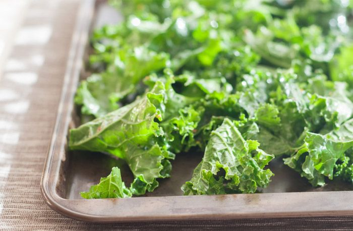 grönkålschips recept