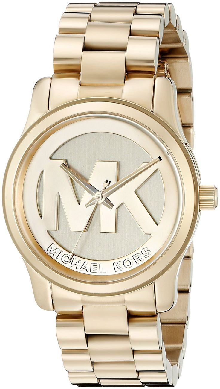 Michael Kors Women's Runway Gold-Tone Watch MK5786