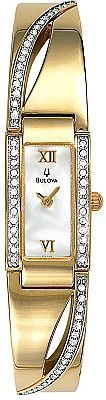 Bulova Women's Crystal Watch 98V28