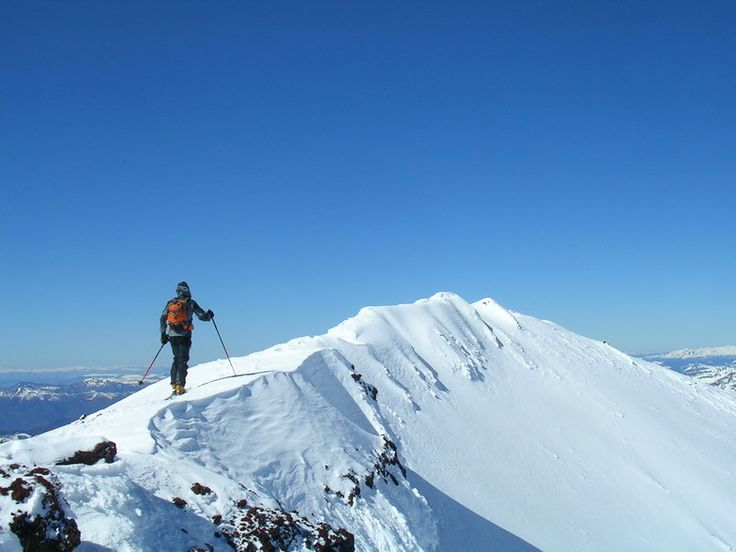 Ski Touring, Lonquimay Volcano Crater