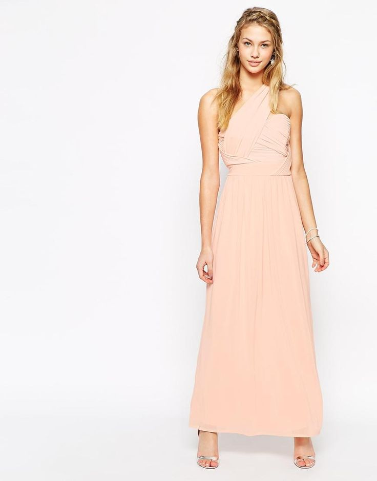 TFNC | TFNC Maxi Dress With One Shoulder Detail at ASOS
