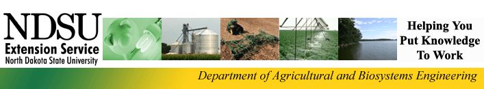 NDSU Department of agirculture and biosystem engineering