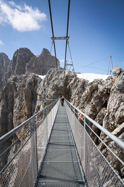 Dachstein  Bridge, Stairway to Nothingness, Dachstein Glacier, Austria