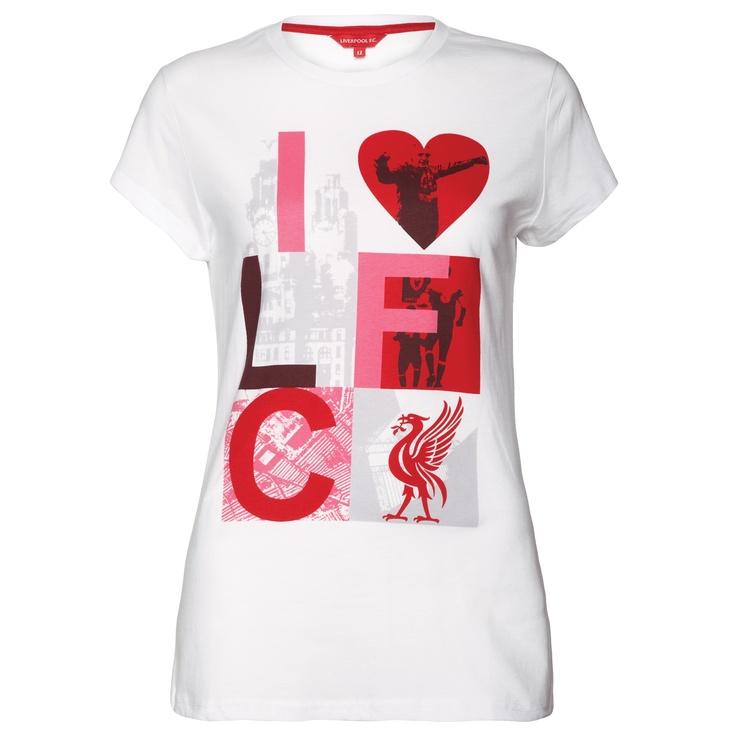Official LFC Ladies Need 2 Tee  Order here: http://store.liverpoolfc.tv/Ladies-Need-2-Tee/pid-34644