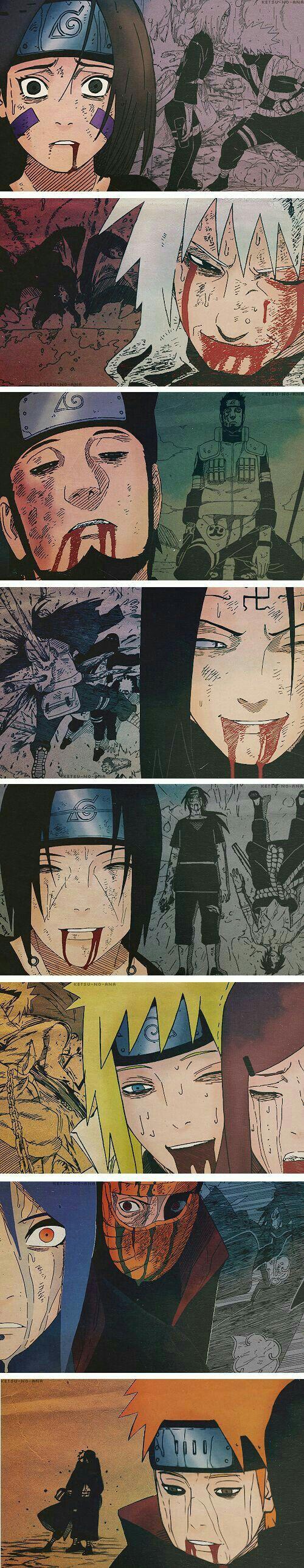 Los verdadero heroes siempre mueren con una sonrisa