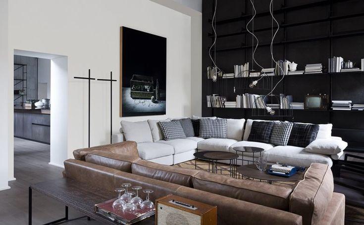 Appartamento BoffiDe PadovaMA/U Studio Hem vardagsrum