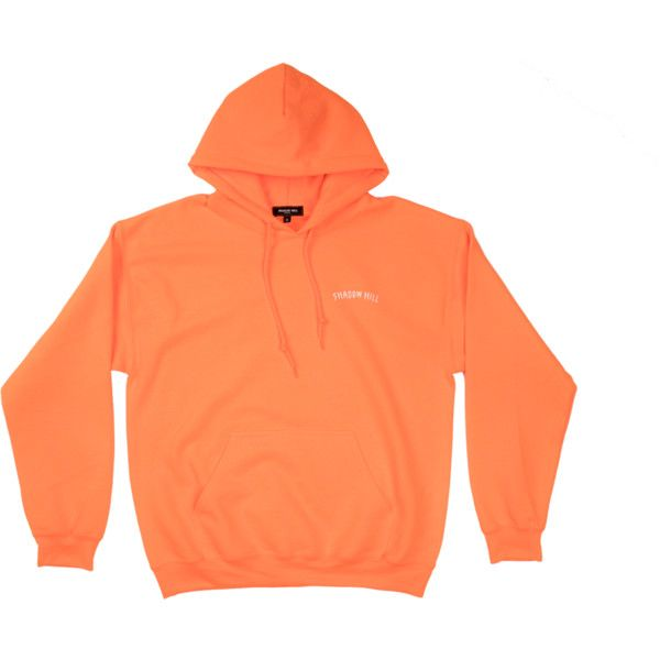 Orange Ice Oversized Merch Hoodie ($71) ❤ liked on Polyvore featuring tops, hoodies, orange hoodie, hooded sweatshirt, oversized hoodies, orange hoodies and oversized hooded sweatshirt