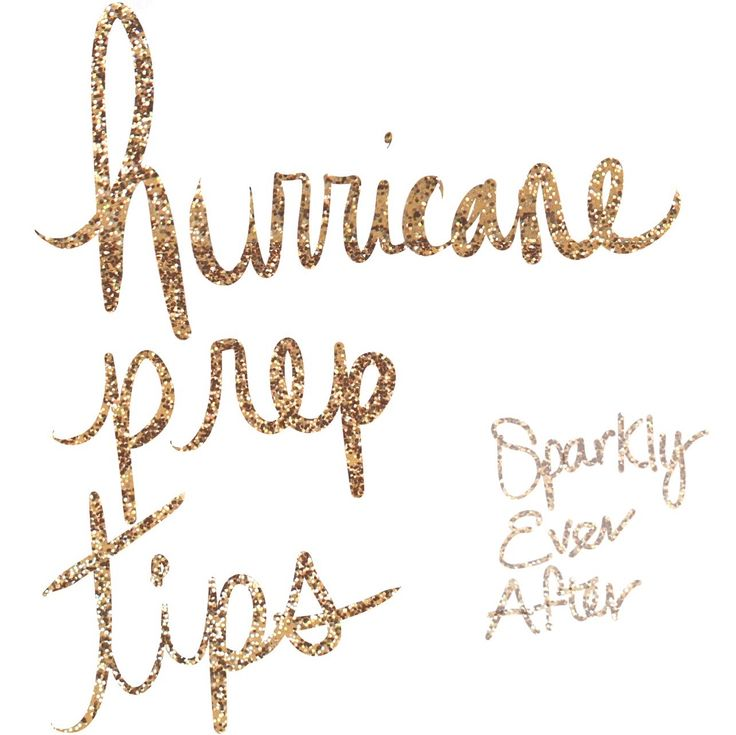 Hurricane prep tips because being prepared is the best way to stay safe. Being born and raised in Florida, hurricane season is just a way of life.