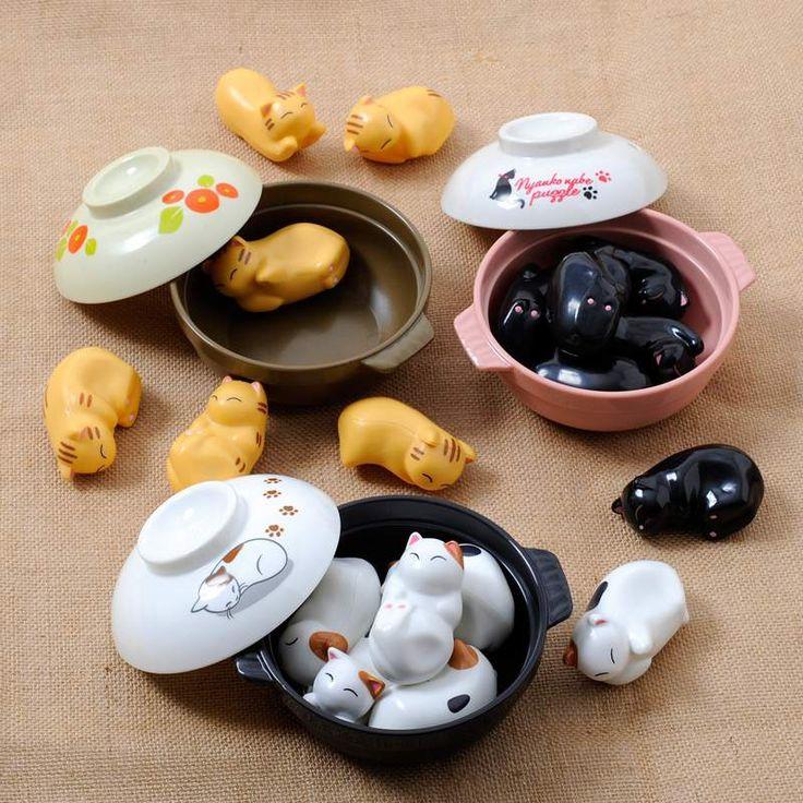Nyanko Clay Pot Puzzle | Clay, Clay pots, Cute kitchen