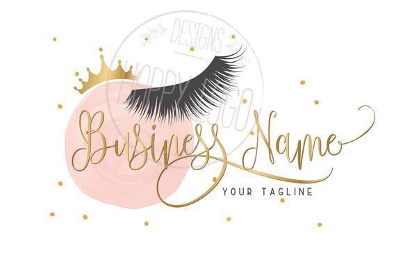 Por Favor Lea Antes De Comprar Un Logotipo De Mi Tienda Logos De Maquillaje Extensiones De Pestañas Logo De Belleza