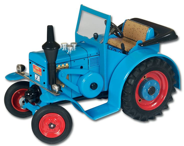 "kovap LanzEIL Bulldog tractor  3 forward gears and one reverse gear. clockwork motor wound via one of the large wheels . fitted with a brake.  All the tractors are in 1/25"" scale. the tractor is a very good likeness to the real thing and has the actual type of tractor name on the body work. Kovap have recently celebrated there 55 years of being in business behind the Iron curtain and as a company in the Czech Republic."