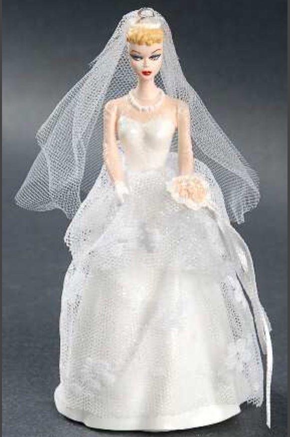 Wedding Day Barbie Hallmark Keepsake Christmas Barbie Wedding Wedding Dresses Wedding