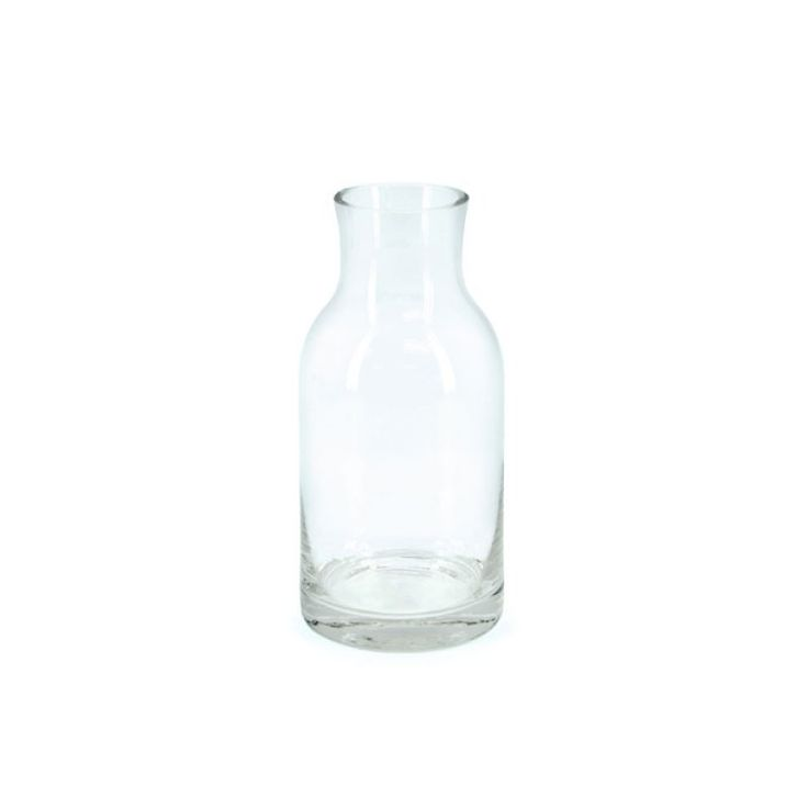 Glass Dome Vase 9.3Diax20cmH - Clear (02-D20) | Oceans FloralWe stock competitively priced quality glassware in a large range of styles. Whether you need glass vases, fish bowls, bottles and jars, hanging vases or an elegant showcase piece, we have the latest styles and a fantastic variety of glass vessels to cover all occasions. Weddings, DIYwedding, Centrepiece, Event planning.