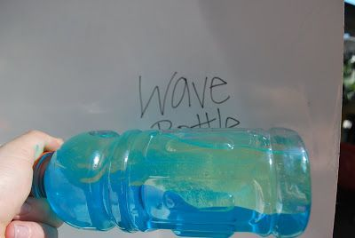 Ocean Wave Discovery Bottle @ http://familylicious.com/ocean-wave-discovery-bottle/ Boost or Planters Peanut bottle-strong. Jewel It glue (dry 24 hrs) strong.
